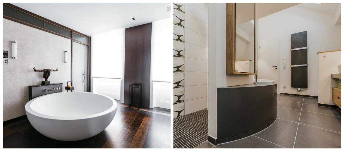 2019 bathroom trends, plumbing in bathroom interior design 2019