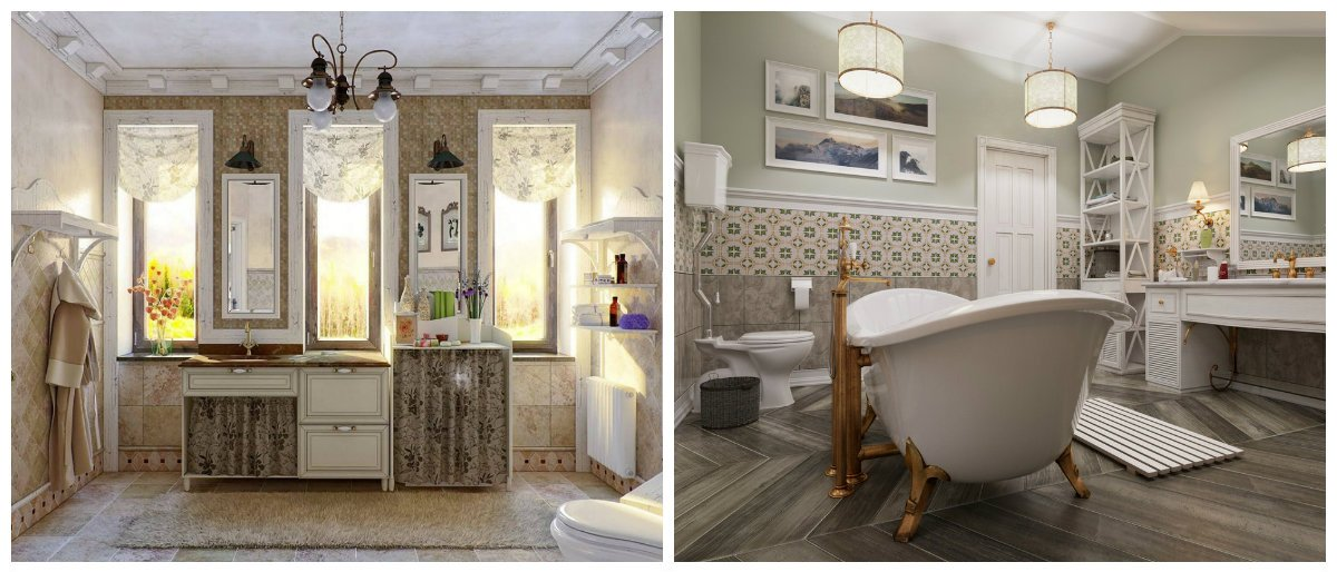 2019 bathroom trends, Provence style in bathroom trends 2019