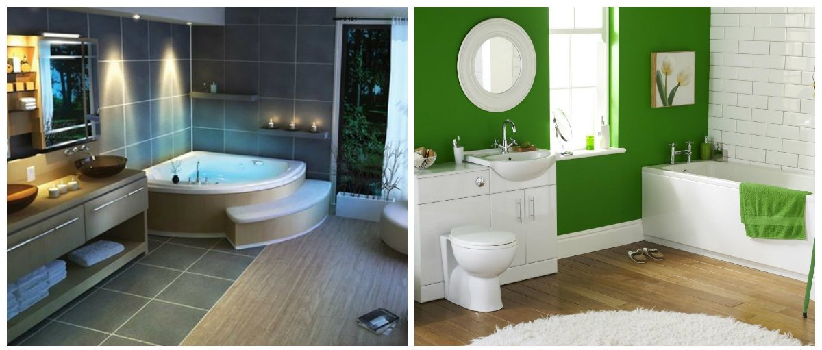 2019 bathroom trends, stylish colors in bathroom interior design