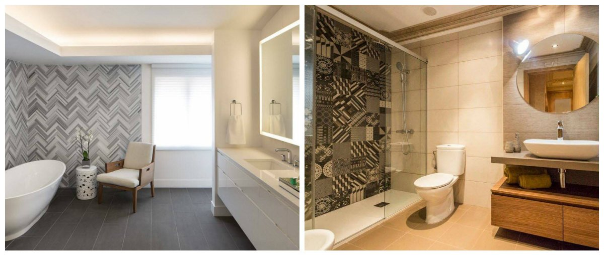 2019 bathroom trends, stylish tiles in 2019 bathroom trends