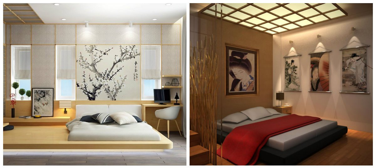 bedroom design 2018, Japanese style in bedroom design 2018