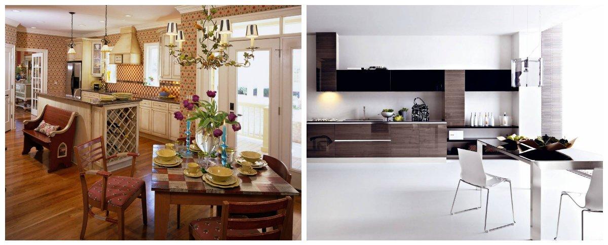 Dining Room Trends 2018, Kitchen Dining Room Interior Design