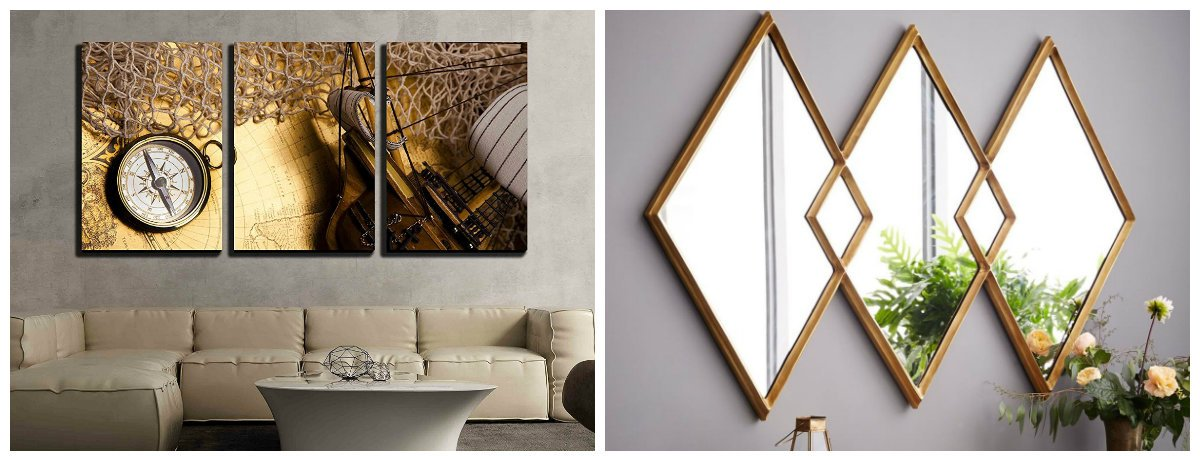 home decor 2019, stylish brass accents in home decor 2019