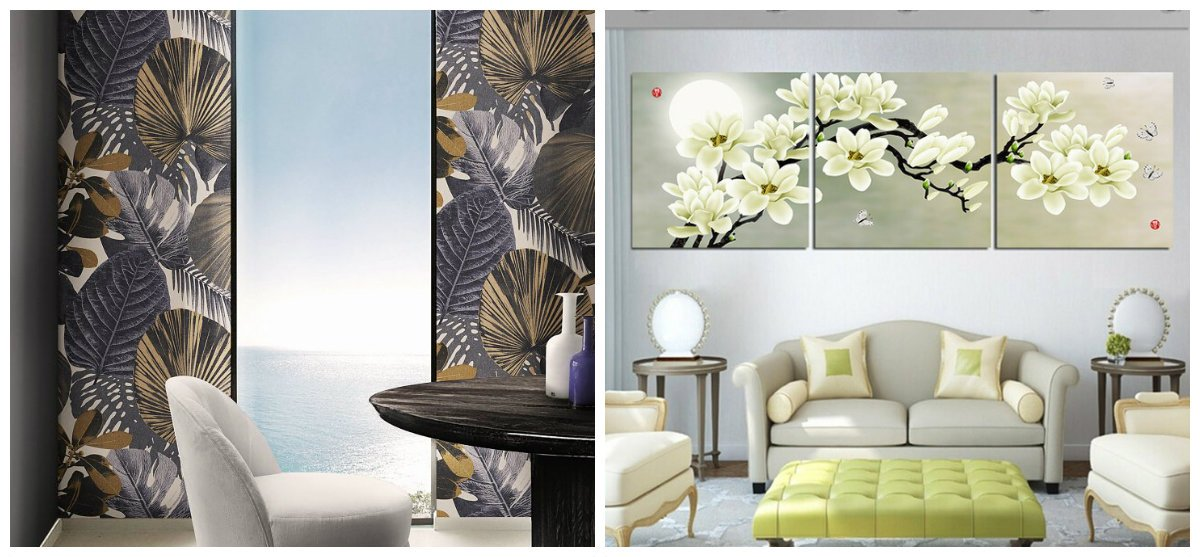 home decor 2019, stylish flower prints in home decor design