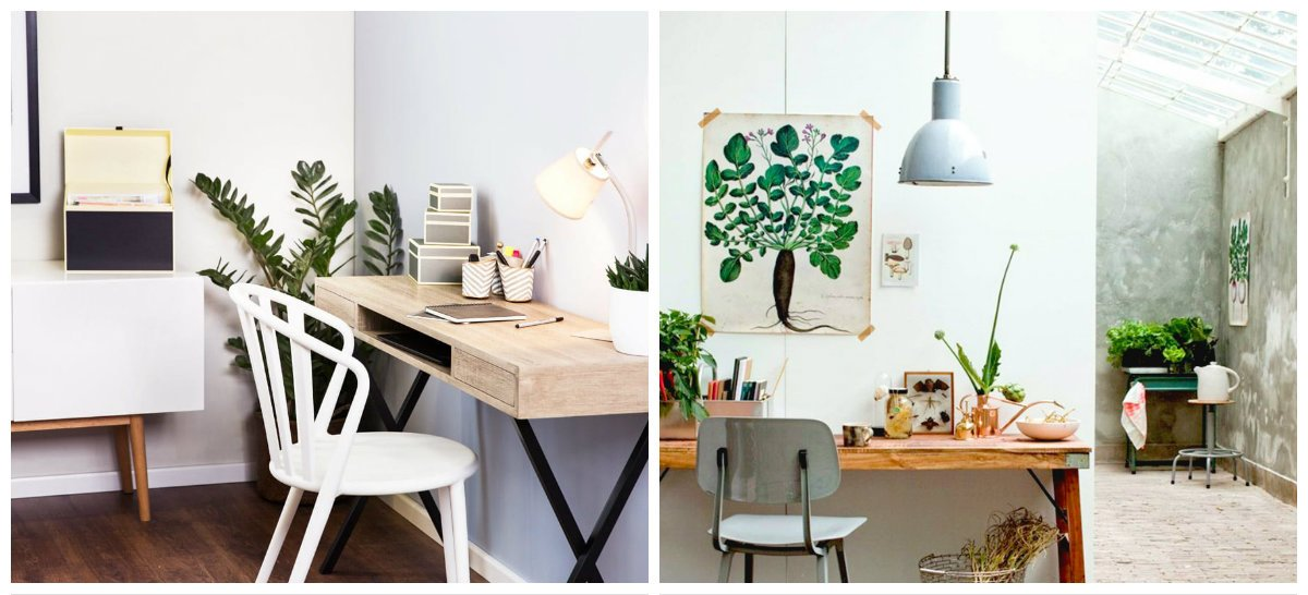 home office 2019, stylish trends and styles of home office design