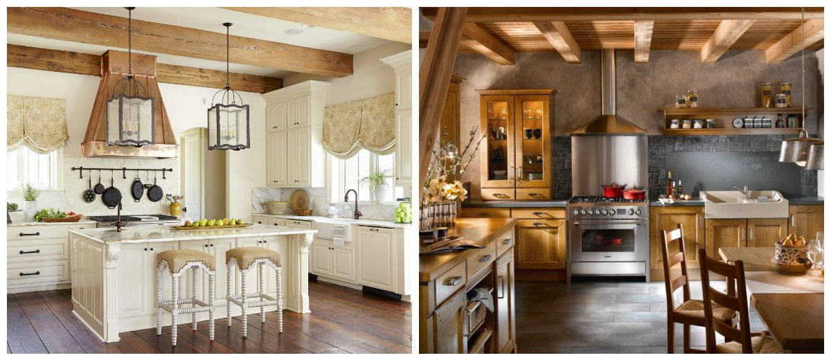 kitchen ideas 2019, country style in kitchen designs 2019