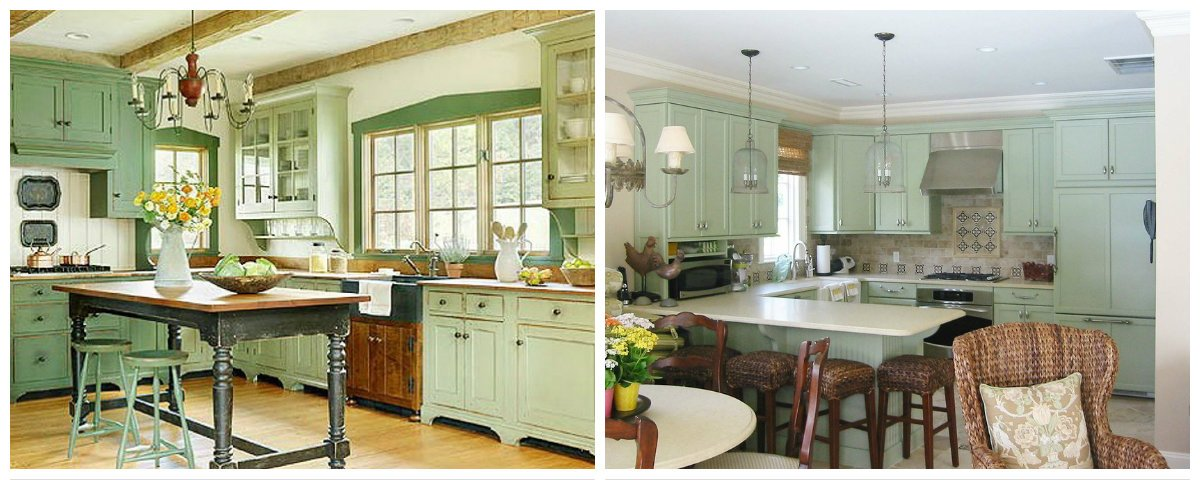 kitchen ideas 2019, pistachio kitchen design in kitchen ideas 2019