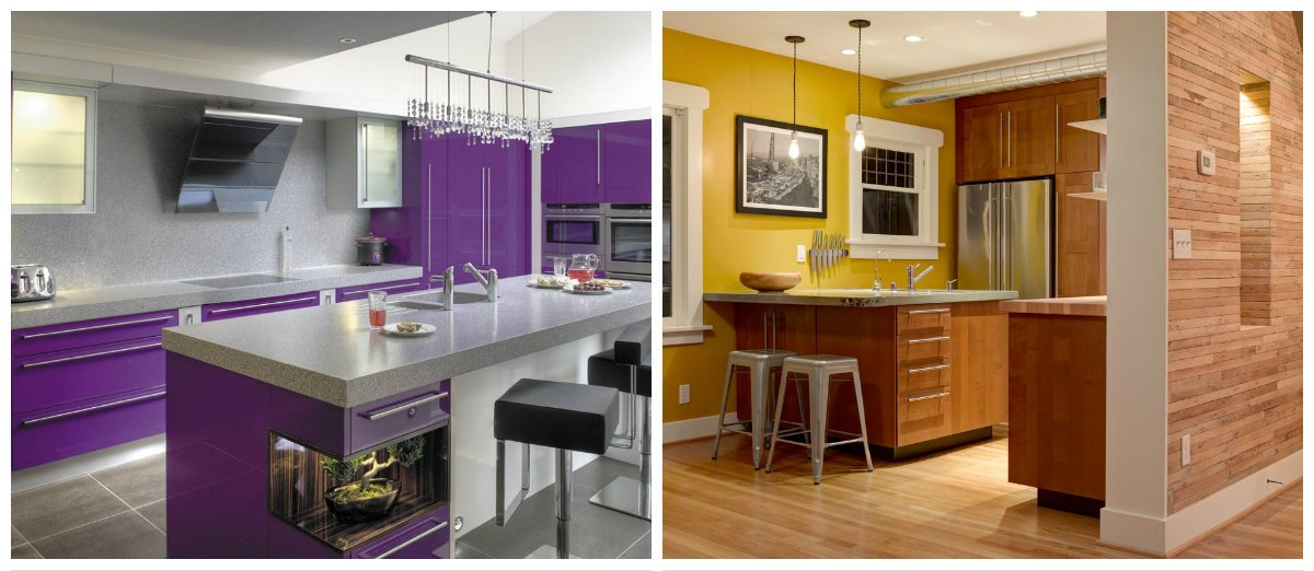 kitchen ideas 2019, trendy colors in kitchen designs 2019
