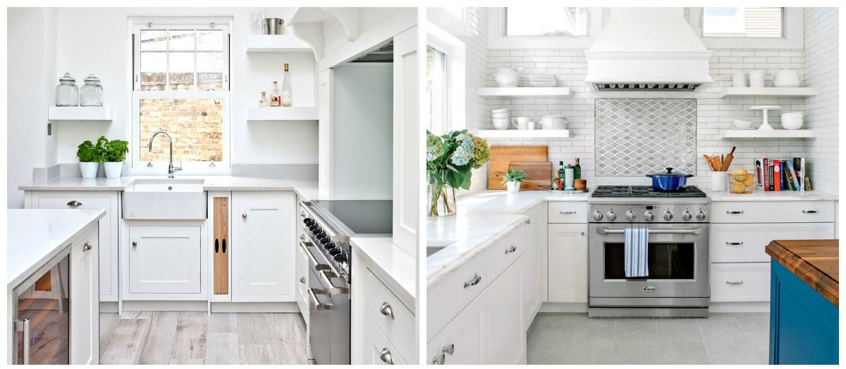 kitchen ideas 2019, white kitchen in kitchen designs 2019