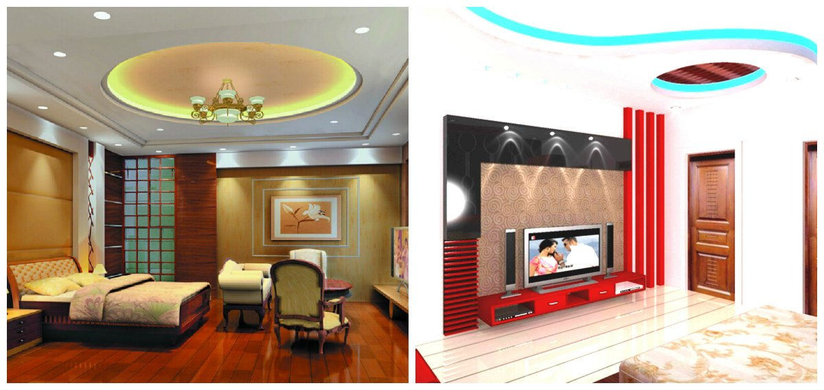 Indian home decor, ceiling design in Indian home design