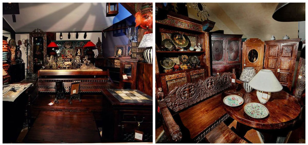 Indian home decor, wooden furniture in Indian home design