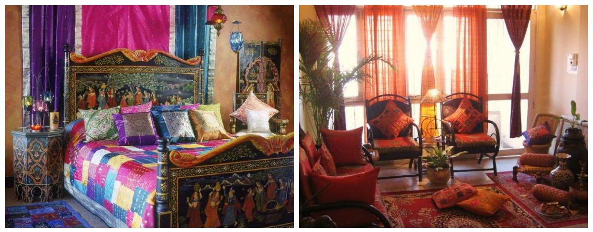 Indian interior design, trendy shades for Indian interior design