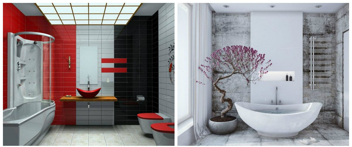 bathroom ideas 2019, best trends and colors in bathroom designs 2019