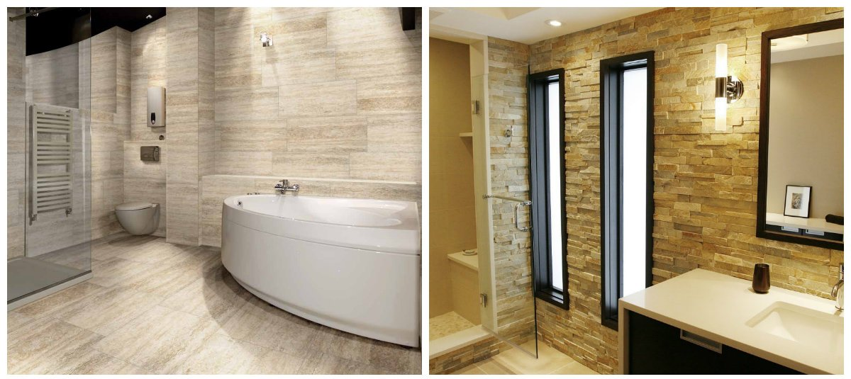 bathroom ideas 2019, beige bathroom, cappuccino bathroom