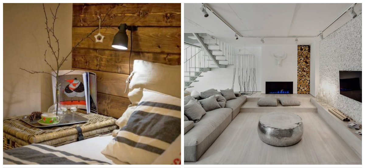 eco interior design, stylish accessories in eco style interior design