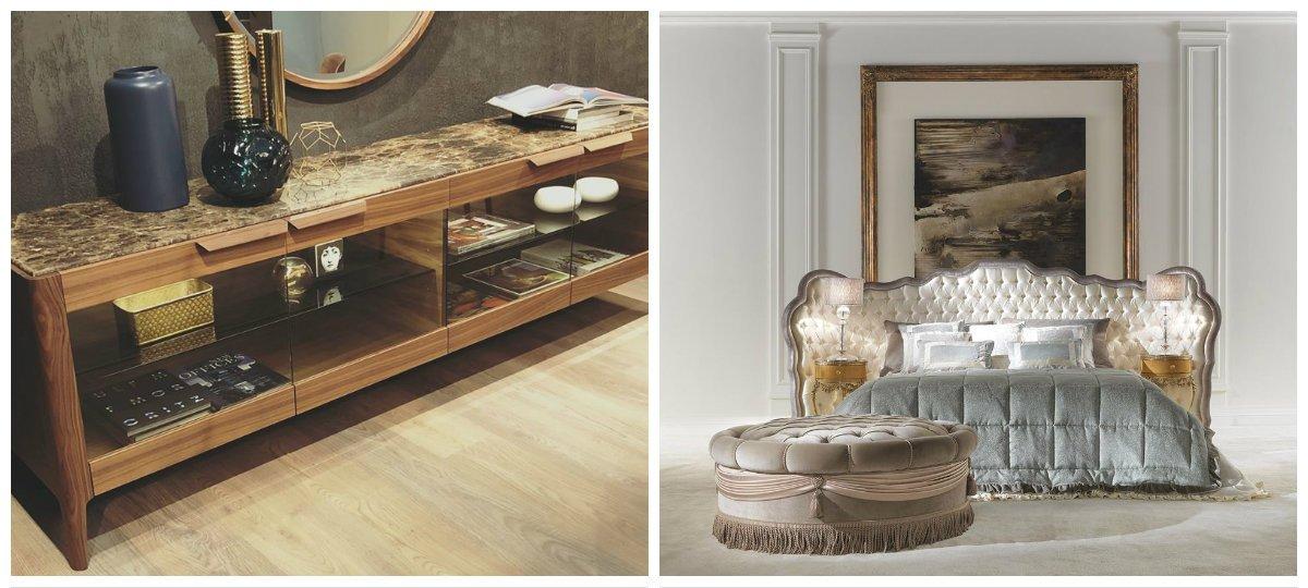 furniture trends 2019, quartz in furniture design, puffs in furniture design