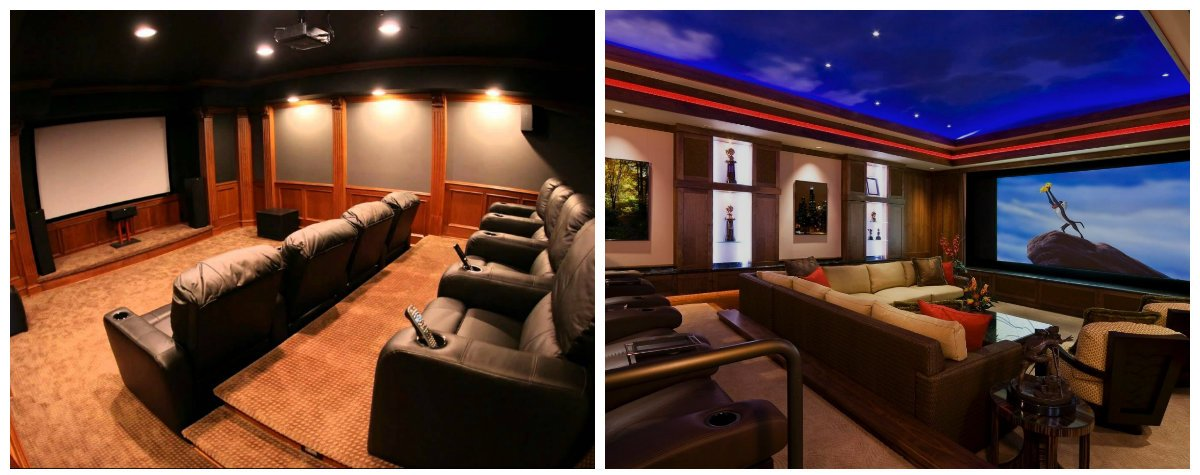 Home Theater Decor, Stylish Tips And Features For Home Theater Design