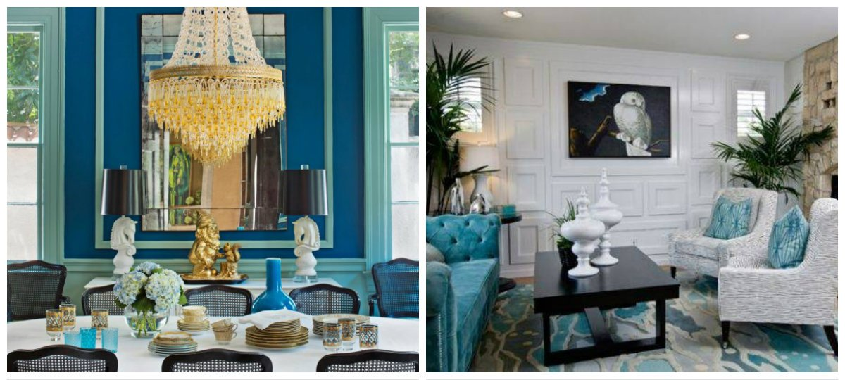 interior color schemes, stylish Mediterranean style