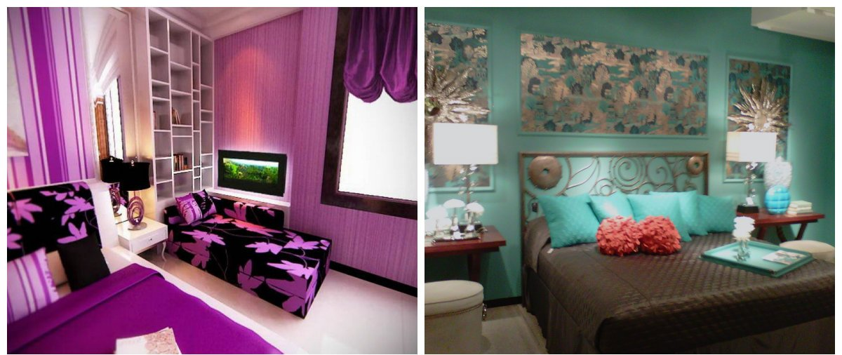 modern interior design 2019, honeysuckle color, turquoise color
