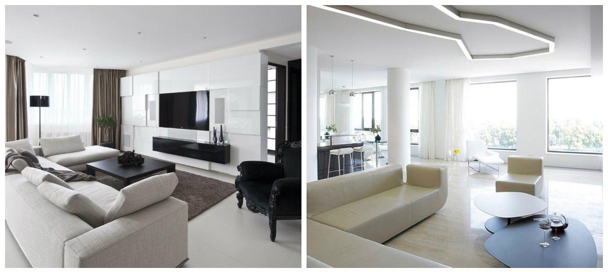 modern interior design 2019, minimalism style in modern interior design 2019