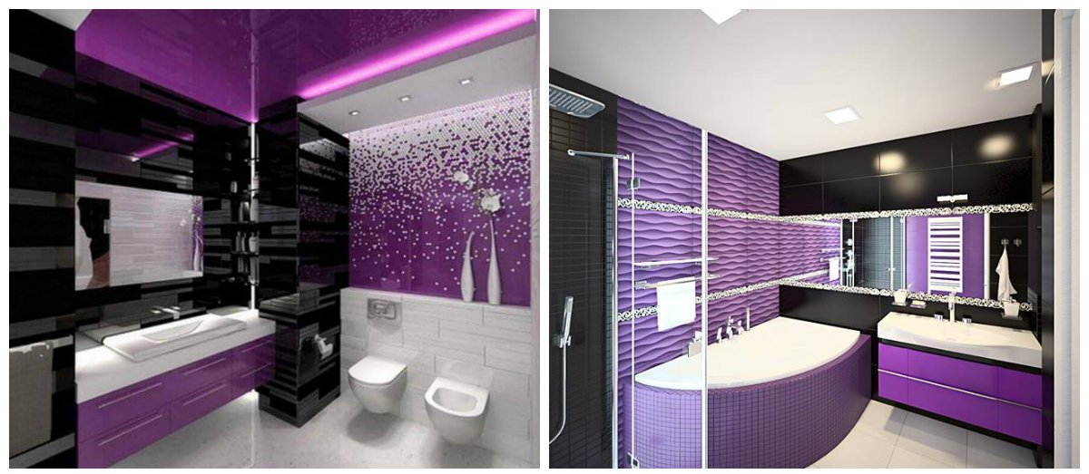 purple bathroom ideas fashionable ideas for purple bathroom design. Black Bedroom Furniture Sets. Home Design Ideas