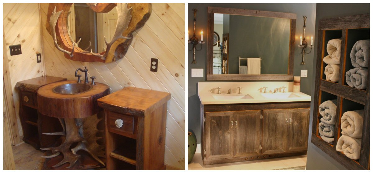 Rustic Bathroom Decor, Furniture Trends In Rustic Bathroom Design