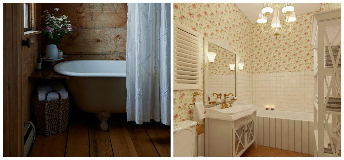 rustic bathroom decor, Provence bathroom design, Russian bathroom design