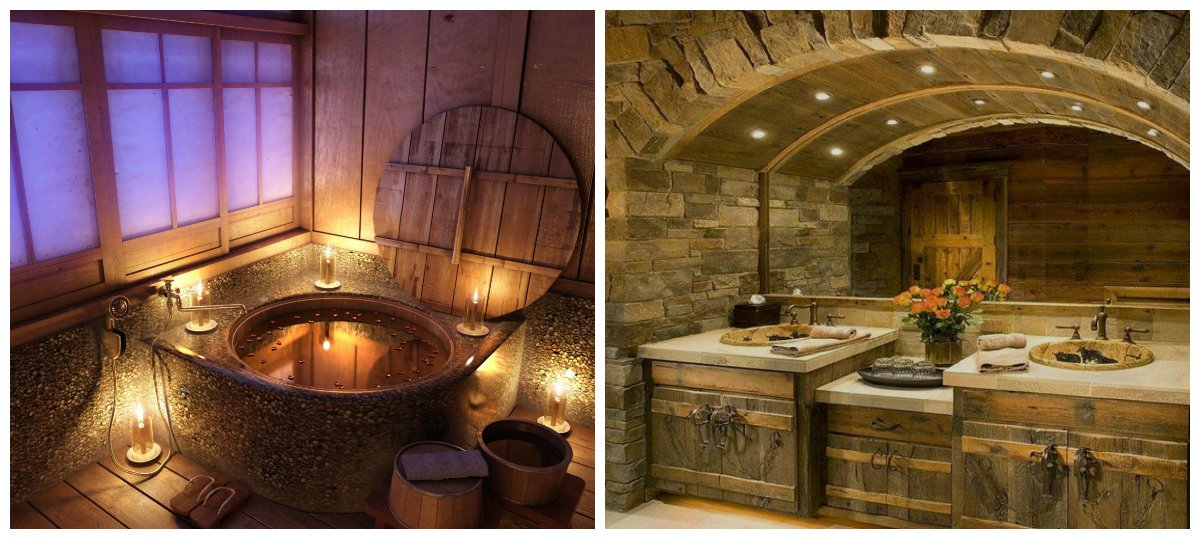 rustic bathroom decor, best styles and ideas for rustic bathroom design