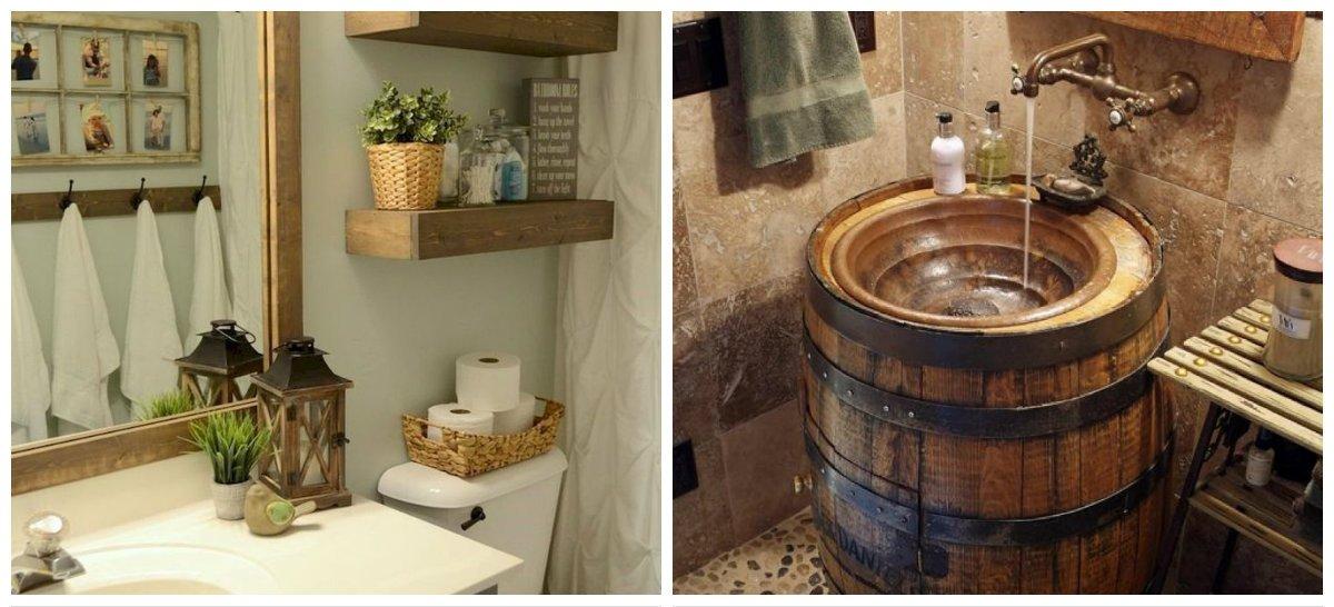 rustic bathroom decor, stylish decor ideas in rustic bathroom design
