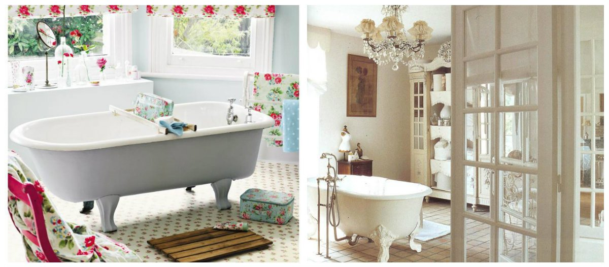 Shabby Chic Bathroom Decor, Main Features And Best Design Ideas