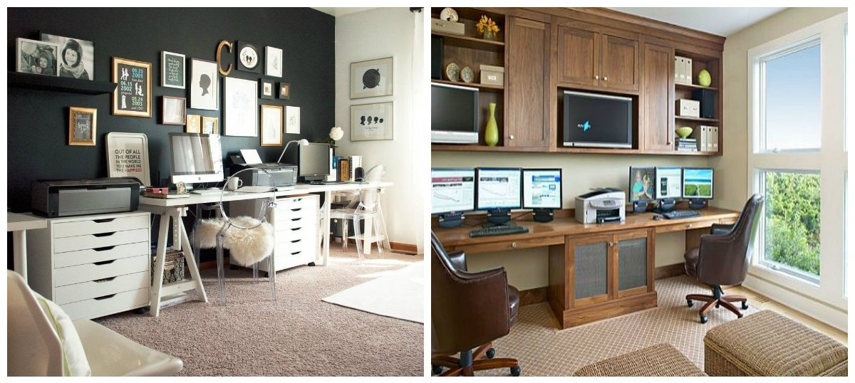 Small Home Office Ideas, High Tech Style For Small Home Office Design