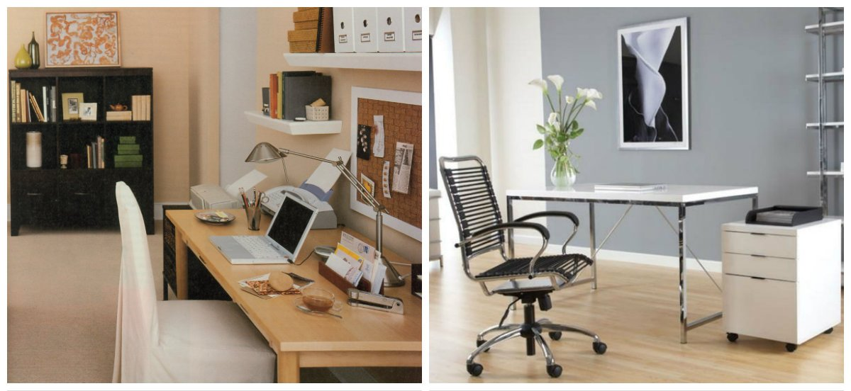 small home office ideas, minimalism style in small home office design