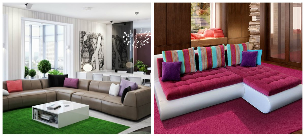 Sofa Design 2018, Stylish Colors Of Sofa Design 2018