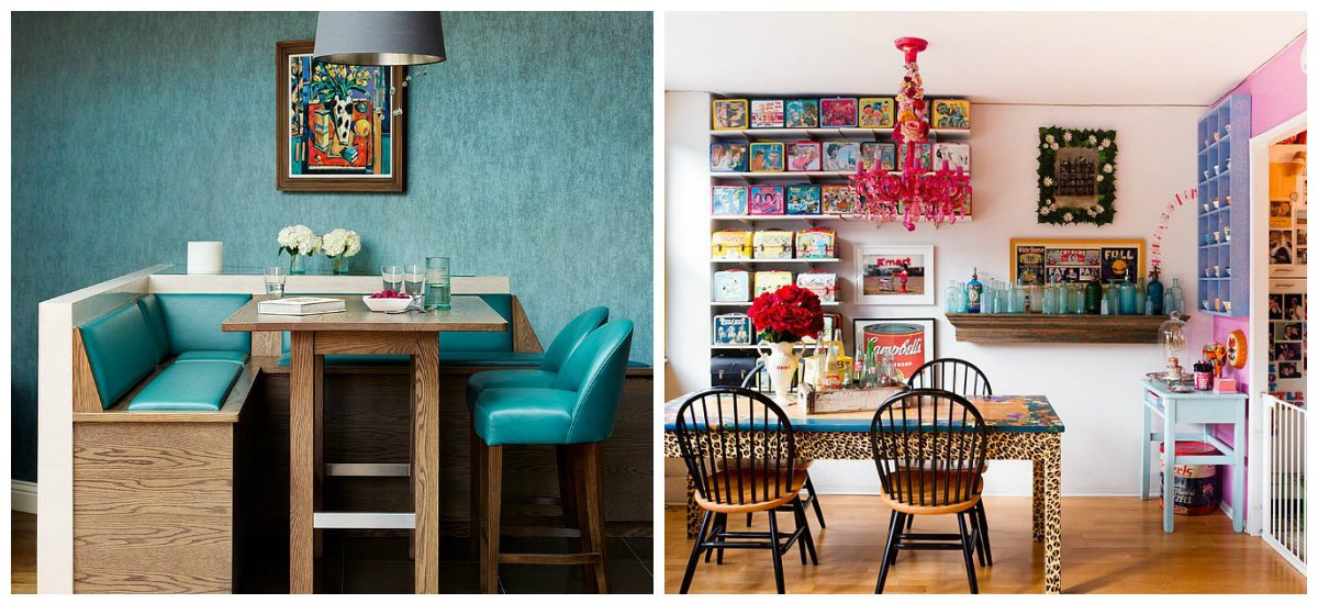 vintage dining room, mixed styles in vintage interior design of dining room