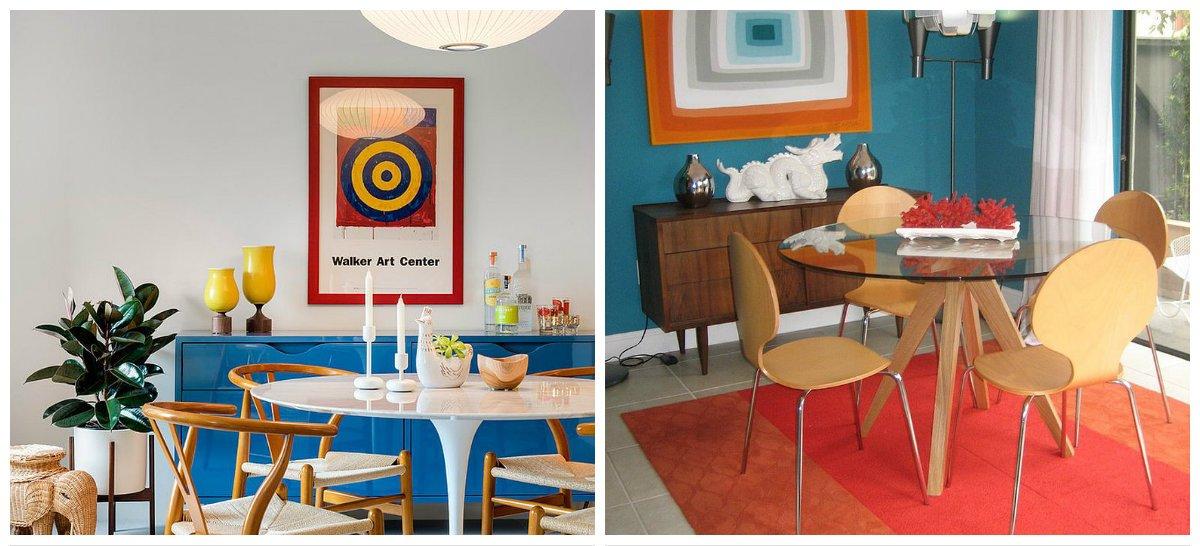 vintage dining room, simplicity of vintage dining room
