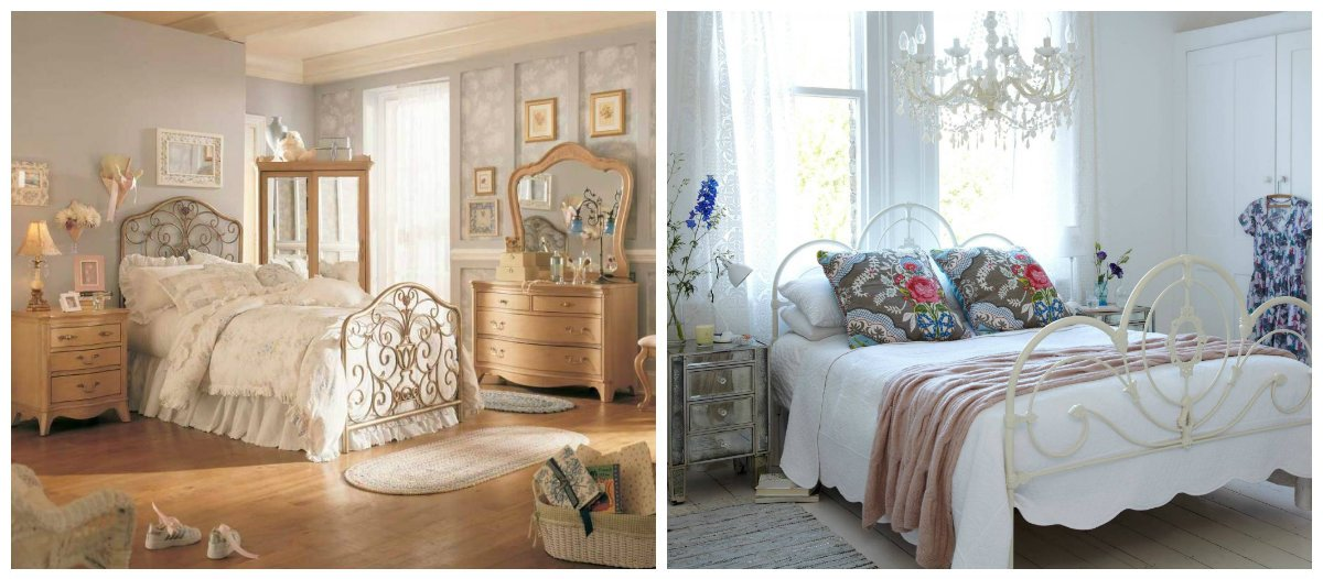 vintage interior design, bedroom design in vintage style