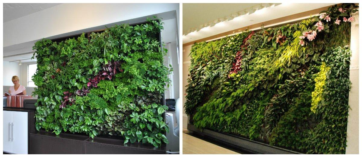 wall design ideas, fashionable living wall design ideas