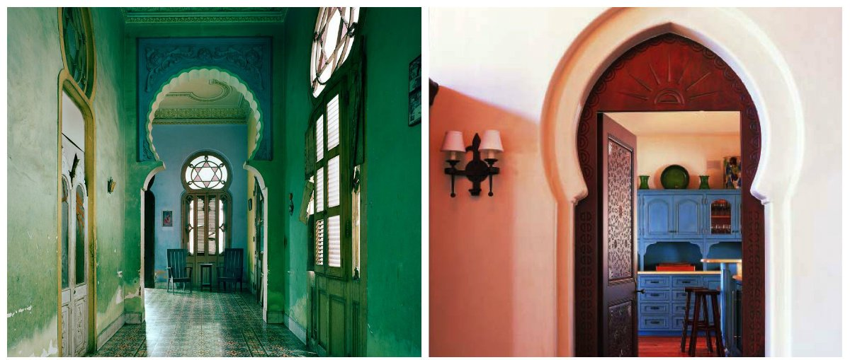Moroccan interior design, stylish arches design in Moroccan interior