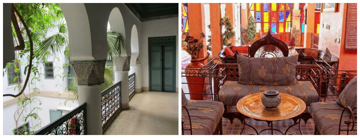 Moroccan interior design, wrought iron in Moroccan interior design