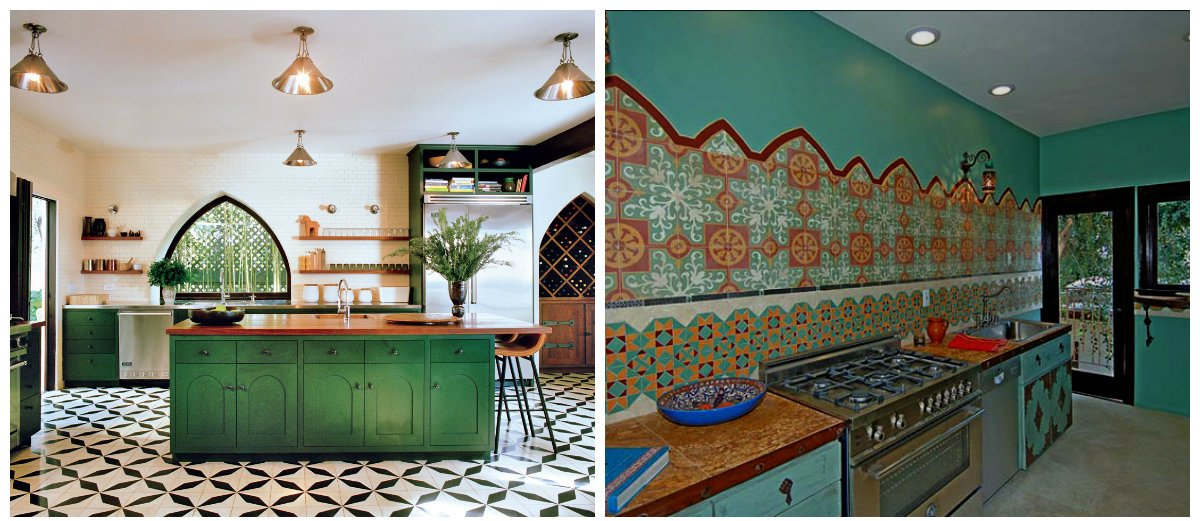Moroccan kitchen, Moroccan kitchen decor, Moroccan style kitchen