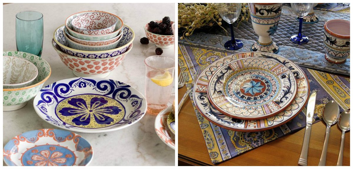 Moroccan kitchen, Moroccan kitchen decor, accessories in Moroccan style