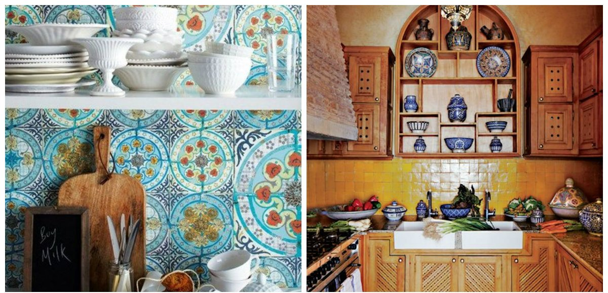 Moroccan kitchen, Moroccan kitchen decor, decor ideas in Moroccan kitchen