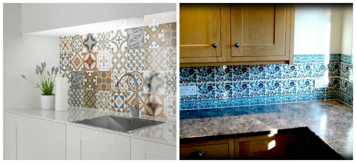 Moroccan kitchen, Moroccan kitchen decor, tiles in Moroccan kitchen