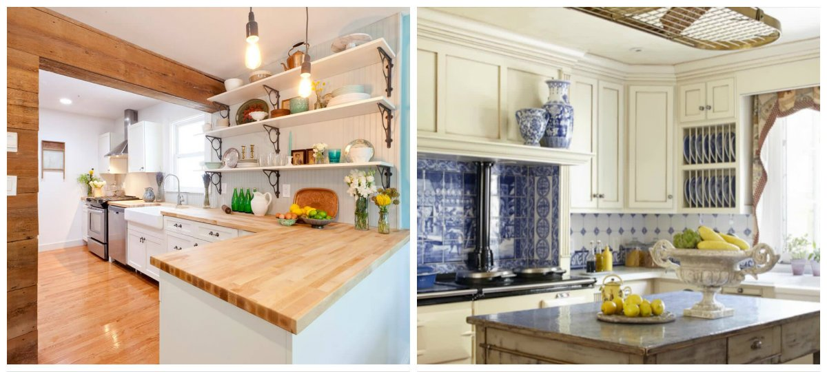 cottage kitchen ideas, best trends and ideas in cottage style