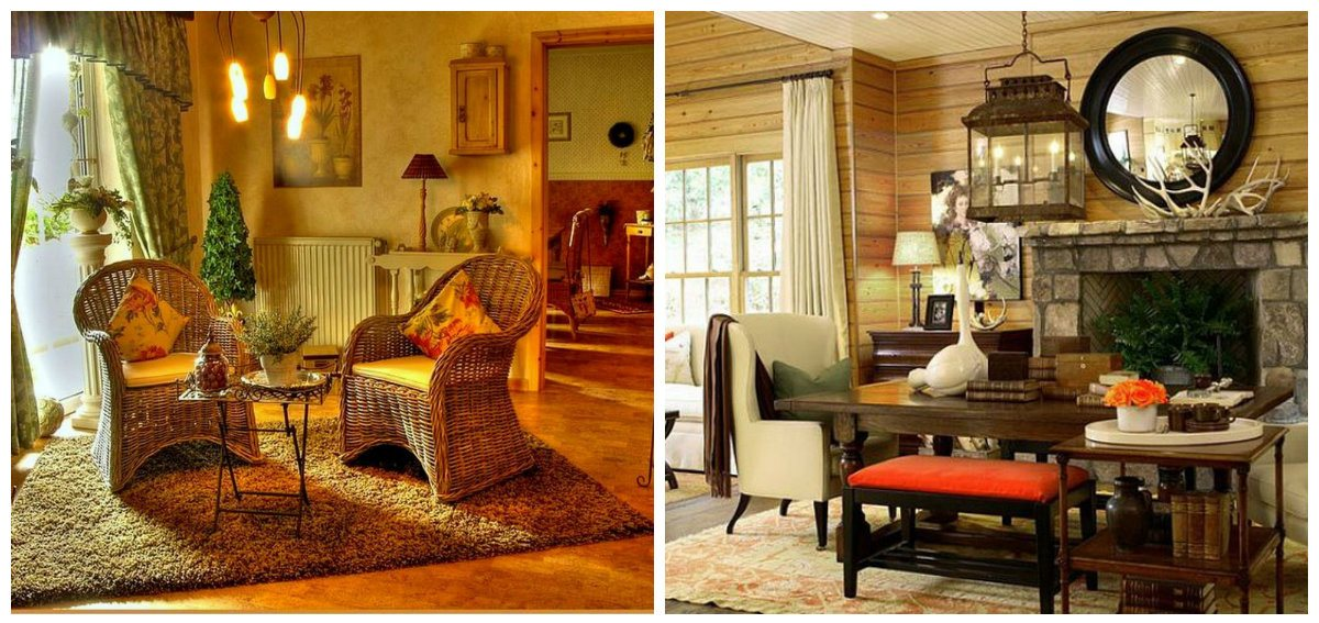 country decorating ideas, stylish trends and ideas of country interior design