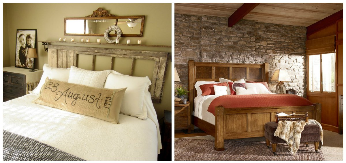 country interior design, bedroom design in country interior style