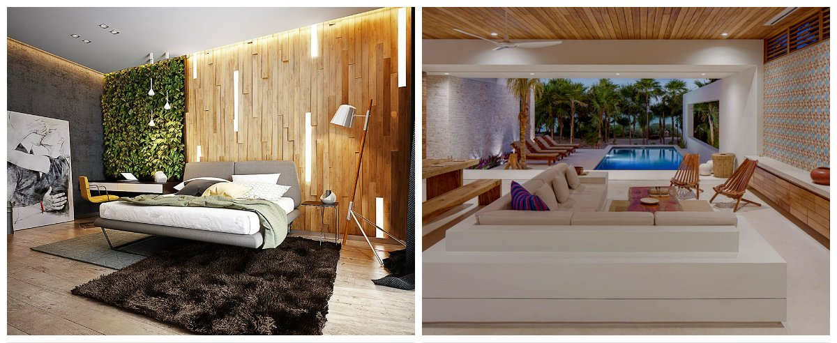 eco interior design ideas, stylish materials in eco interior design