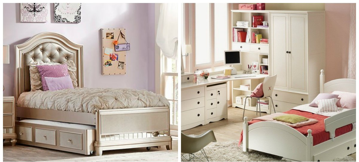 girls bedroom decor, furniture trends in girls bedroom design