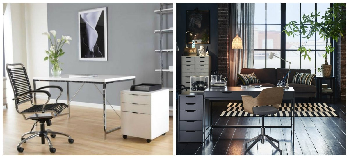home office ideas, stylish home office furniture ideas