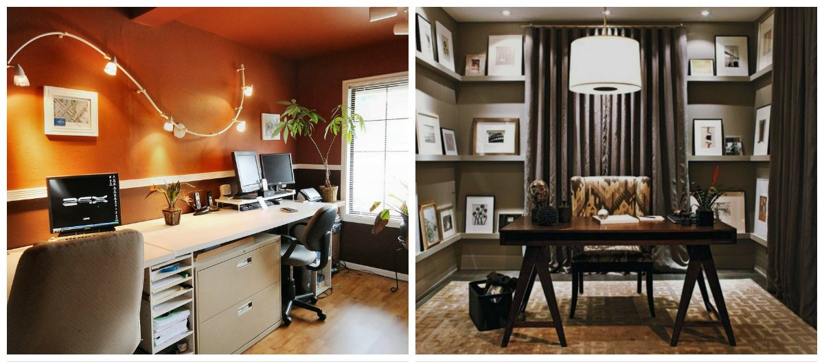 home office ideas, lighting ideas in home office design ideas